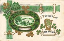 holA070165 - A Bit of Irish Soil St. Patrick's Day Postcard