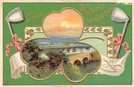 holA070167 - Erin Go Bragh St. Patrick's Day Postcard