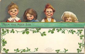 holA070184 - Artist Ellen Clapsaddle St. Patrick's Day Postcard