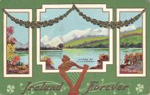 holA070194 - Lakes of Killarney St. Patrick's Day Postcard