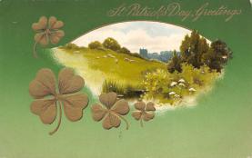 holA070198 - John Winsch St. Patrick's Day Postcard