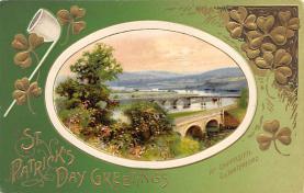 holA070206 - John Winsch St. Patrick's Day Postcard