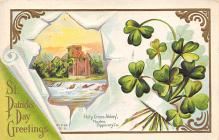 holA070217 - Holly Cross Abgbey Saint Patrick's Day Postcard