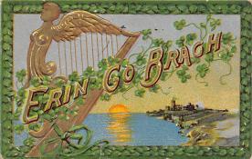 holA070218 - Erin Go Bragh Saint Patrick's Day Postcard