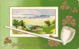 holA070221 - John Winsch Saint Patrick's Day Postcard