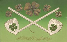 holA070234 - John Winsch Saint Patrick's Day Postcard