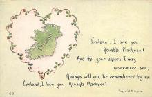 holA070241 - Raymond Browne Saying Saint Patrick's Day Postcard