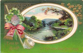 holA070243 - Erin Go Bragh Saint Patrick's Day Postcard