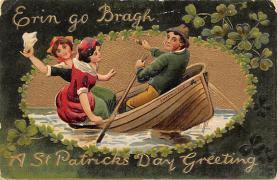 holA070252 - Erin Go Bragh St. Patrick's Day Postcard