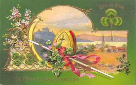 holA070267 - Erin Go Bragh St. Patrick's Day Postcard