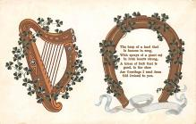 holA070302 - The harp of a Land St. Patrick's Day Postcard