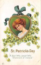 holA070324 - A Dear Little St. Patricks Day Postcard