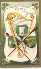 holA070335 - From Erin's Golden Harp St. Patricks Day Postcard