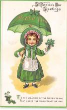holA070358 - Tis the wearing of the Green today St. Patricks Day Postcard