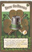 holA070364 - Erin go Bragh St. Patricks Day Postcard