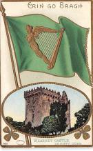 holA070370 - Blarney Castle, County Cork St. Patricks Day Postcard