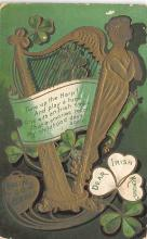 holA070376 - Tune up the harp St. Patricks Day Postcard