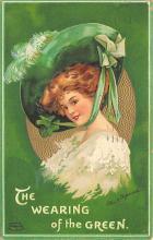 holA070423 - Artist Ellen Clapsaddle Saint Patrick's Day Postcard