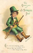 holA070436 - Artist Ellen Clapsaddle Saint Patrick's Day Postcard