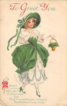 holA070438 - Artist Ellen Clapsaddle Saint Patrick's Day Post Card