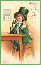 holA070443 - Artist Ellen Clapsaddle Saint Patrick's Day Post Card