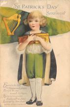 holA070450 - Artist Ellen Clapsaddle Saint Patrick's Day Post Card