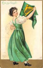 holA070457 - Artist Ellen Clapsaddle Saint Patrick's Day Post Card