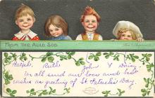 holA070478 - Artist Ellen Clapsaddle Saint Patrick's Day Post Card