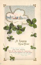 holA070508 - A Happy New Year Saint Patrick's Day Post Card