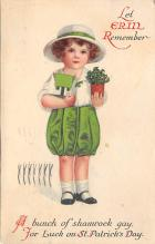 holA070512 - Artist Ellen Clapsaddle Saint Patrick's Day Post Card