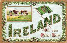 holA070521 - Ireland Saint Patrick's Day Post Card