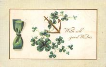 holA070523 - With all good Wishes Saint Patrick's Day Post Card