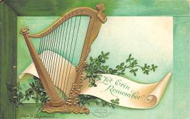 holA070524 - Artist Ellen Clapsaddle Saint Patrick's Day Post Card