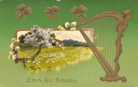 holA070532 - Erin Go Bragh Saint Patrick's Day Post Card
