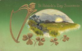 holA070533 - John Winsch Saint Patrick's Day Post Card