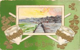 holA070536 - John Winsch St. Patricks Day Postcard
