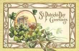 holA070537 - John Winsch St. Patricks Day Postcard