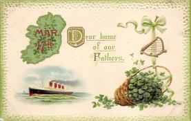 holA070538 - John Winsch St. Patricks Day Postcard