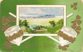 holA070542 - John Winsch St. Patricks Day Postcard