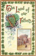 holA070558 - The Land of our fathers St. Patricks Day Postcard