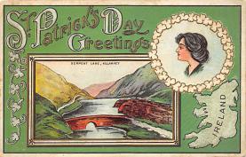 holA070577 - Greetings St. Patricks Day Postcard