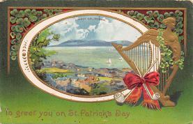 holA070580 - St Patrick's Day St. Patricks Day Postcard