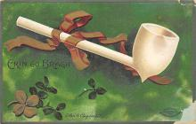 holA070581 - Erin Go Bragh St. Patricks Day Postcard