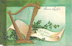 holA070589 - Artist Elln Clapsaddle Let Erin Remember St. Patricks Day Postcard