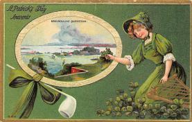 holA070590 - St Patrick's Day St. Patricks Day Postcard