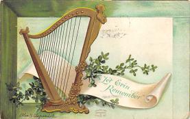 holA070600 - Let Erin Remember St. Patricks Day Postcard