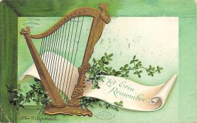 holA070602 - Artist Ellen Clapsaddle Let Erin Remember St. Patricks Day Postcard