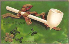 holA070604 - Artist Ellen Clapsaddle Erin Go Bragh St. Patricks Day Postcard