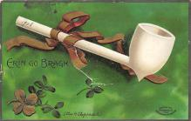 holA070605 - Artist Ellen Clapsaddle Erin Go Bragh St. Patricks Day Postcard