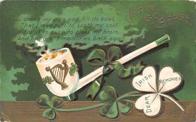 holA070607 - Erin Go Bragh St. Patricks Day Postcard